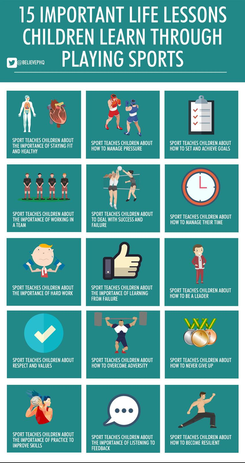15 Life Lessons Children Learn Through Sport